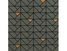 Мозаика Marazzi Eclettica Taupe Bronze 40x40 см