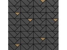 Мозаика Marazzi Eclettica Anthracite Bronze 40x40 см