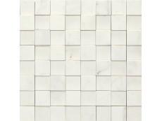 Мозаика Marazzi Allmarble Statuario 3D 30x30 см