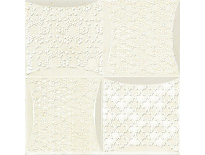 Декор Ceramiche Brennero Dec.Luce Frame Crema Fracrf 25x25 см