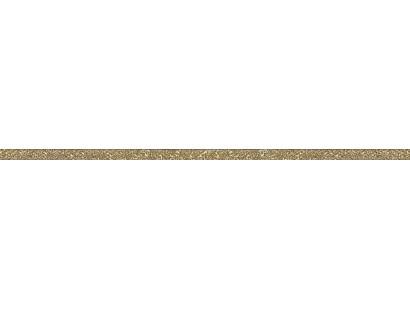 Бордюр Ceramiche Brennero Mat.Luce Metal Gold Mango 1,9x75 см
