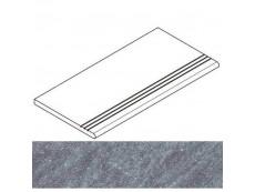 Ступень Italon Genesis Silver Gradino Round Grip Dx Правая 30x60 см