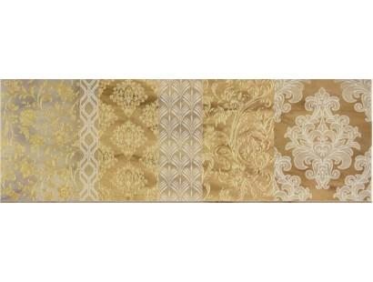 Декор Ceramiche Brennero Dec. Arabesco Visone 25x75 см