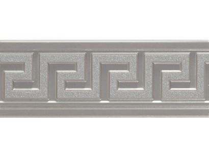 Бордюр Marazzi Evolution Marble Listello Argento 12x32,5 см