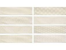 Плитка Cifre Decor Opal Ivory (8 Видов) 7,5x30 см
