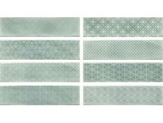 Плитка Cifre Decor Opal Turquoise (8 Видов) 7,5x30 см