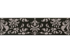 Декор Cifre Opal Decor Coquet Black 7,5x30 см