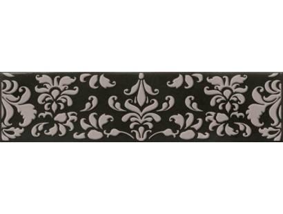 Декор Cifre Opal Decor Coquet Black 7,5x30 см