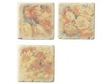 Декор Cir Marble Age Inserto Ottocento S/3 Botticino 10x10 см