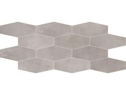 Мозаика ABK Interno 9 Mosaico Losanga Silver (I9R03151) 30x60 см
