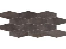 Мозаика ABK Interno 9 Mosaico Losanga Dark (I9R03201) 30x60 см