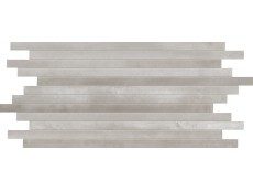 Мозаика Ascot Steelwalk Stick Nikel Rett/Lapp 29,6x59,5 см