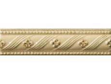 Декор Vallelunga Rialto Crema List. Floreale Painted 3,5x15 см