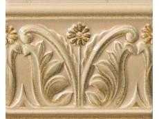 Декор Vallelunga Rialto Crema List. Floreale Pain. 12x15 см