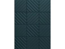 Плитка Marca Corona 4D E065 Diagonal Deep Blue 20x20 см