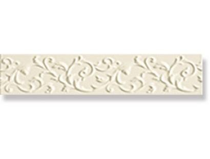 Бордюр СБ072 Ascot Glamourwall Onyx  Listello Baroque 5x25 см
