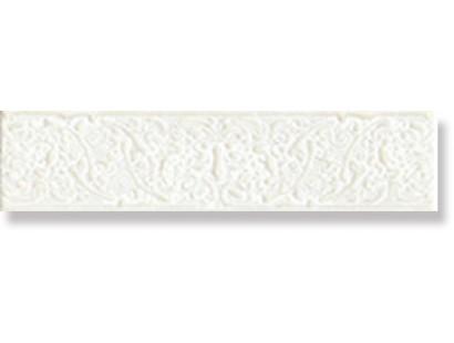 Бордюр СБ082 Ascot Glamourwall Calacatta Listello Dec 6x25 см