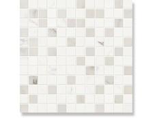 Мозаика СД154 Ascot Glamourwall Calacata Mix  Мозаика 2,5*2,5 30x30 см