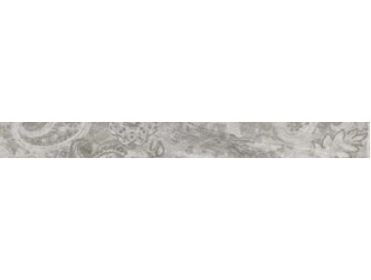 Бордюр Ascot Gemstone Listello Carpet Silver 6x58,5 см