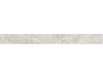 Бордюр Ascot Gemstone Listello Carpet White 6x58,5 см