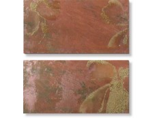 Декор Ceramiche Brennero Goldeneye Euphoria Dec. Red 25,1x50,5 см