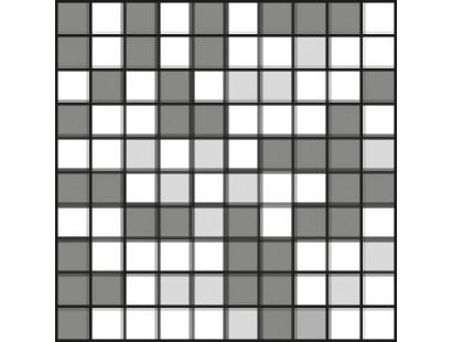 Мозаика Rex Etoile Creme Mos 3D Mix 3X3 (761841) 30x30 см