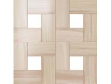 Мозаика Atlas Concorde Aston Wood Floor Bamboo Mosaic Lappato 45x45 см