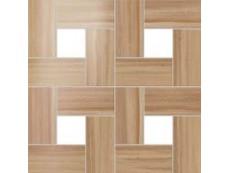 Мозаика Atlas Concorde Aston Wood Floor Iroko Mosaic Lappato 45x45 см