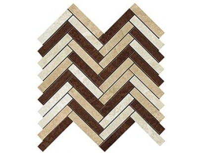 Мозаика Atlas Concorde Force Wall Blend Herringbone Mosaic 29,8x29,3 см