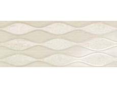 Декор Atlas Concorde Sinua Wall Wave White 20x50 см