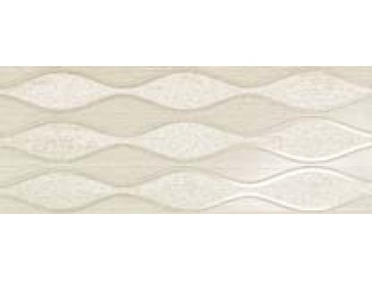Декор Atlas Concorde Sinua Wall Wave White 20x50 см