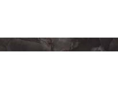 Бордюр Atlas Concorde Supernova Onyx Floor Black Agate Listello Lappato 7,3x59 см