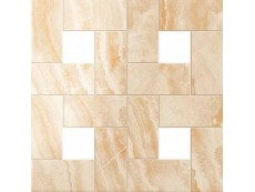 Мозаика Atlas Concorde Supernova Onyx Floor Honey Amber Mosaic Lappato 45x45 см