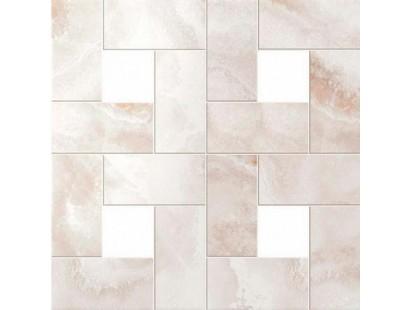 Мозаика Atlas Concorde Supernova Onyx Floor Pure White Mosaic Lappato 45x45 см