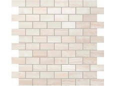 Мозаика Atlas Concorde Supernova Onyx Wall Pure White Brick Mosaic 30,5x30,5 см