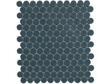 Мозаика Fap Ceramiche Boston Petrolio Round Mosaico 29,5x32,5 см