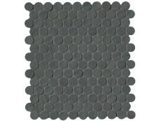 Плитка Fap Ceramiche Brooklyn Carbon Round Mosaico 29,5x32,5 см