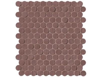 Плитка Fap Ceramiche Brooklyn Flame Round Mosaico 29,5x32,5 см