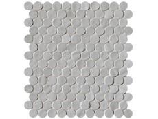 Плитка Fap Ceramiche Brooklyn Fog Round Mosaico 29,5x32,5 см