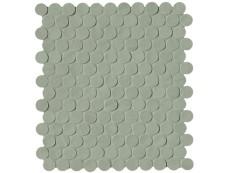 Плитка Fap Ceramiche Brooklyn Leaf Round Mosaico 29,5x32,5 см