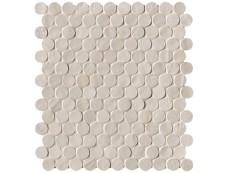 Плитка Fap Ceramiche Brooklyn Sand Round Mosaico 29,5x32,5 см