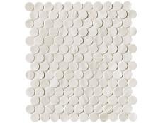 Плитка Fap Ceramiche Brooklyn Snow Round Mosaico 29,5x32,5 см
