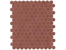 Мозаика Fap Ceramiche Color Line Copper Marsala Mosaico Round 29,5x32,5 см