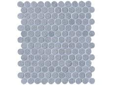 Мозаика Fap Ceramiche Color Line Silver Avio Mosaico Round 29,5x32,5 см