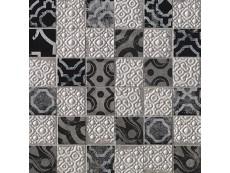 Мозаика Fap Ceramiche Creta Maiolica Grey Mosaico 30,5x30,5 см