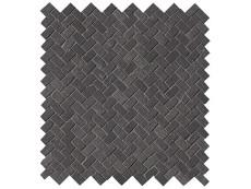 Мозаика Fap Ceramiche Maku Dark Gres Mosaico Spina Matt 30x30 см