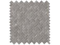 Мозаика Fap Ceramiche Maku Grey Gres Mosaico Spina Matt 30x30 см