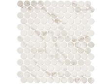Мозаика Fap Ceramiche Roma Diamond Calacatta Round Mosaico 29,5x32,5 см