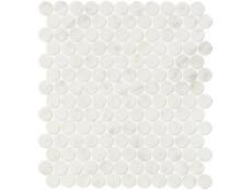 Мозаика Fap Ceramiche Roma Diamond Carrara Round Mosaico 29,5x32,5 см