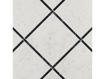 Декор Fap Ceramiche Roma Diamond Incroci Carrara Nero Reale 60x60 см